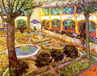 Sanatório aonde Van Gogh passou um período da vida, em Arles - França. São todos bonitos assim?